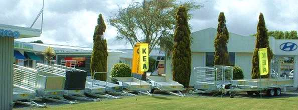 Range of Kea Trailers